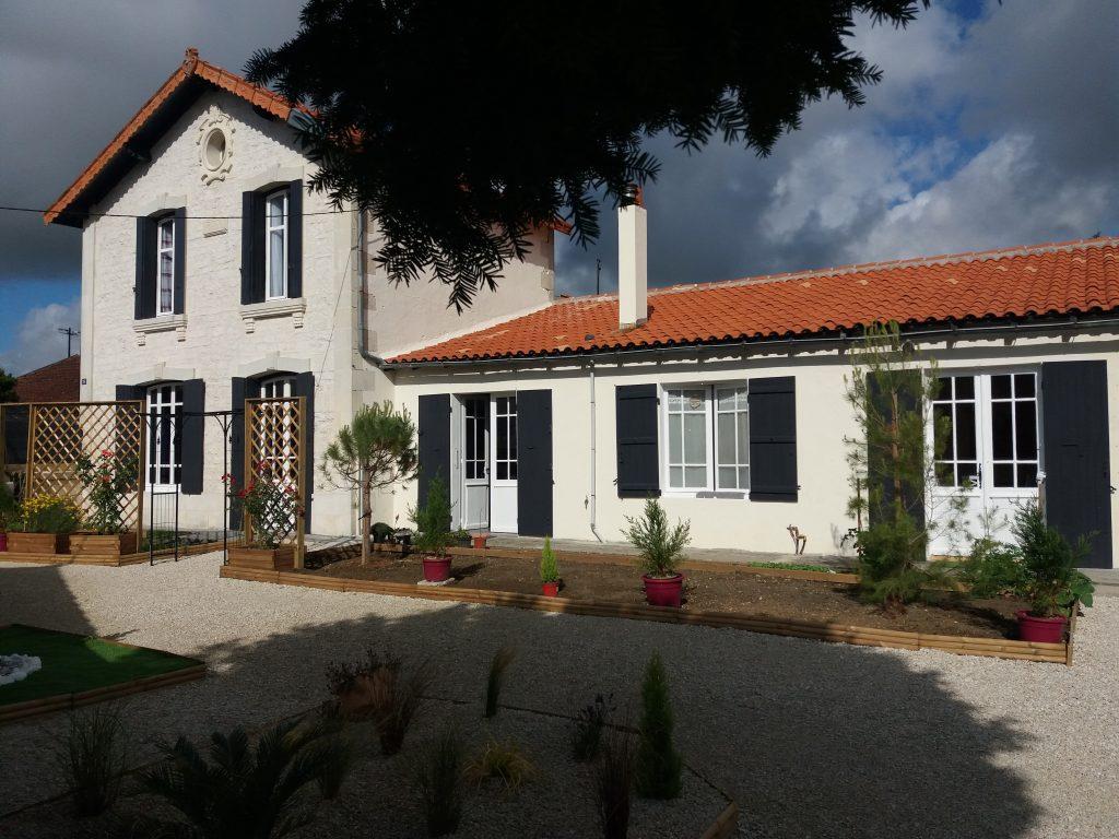 La maison du clos des Passiflores à Pons