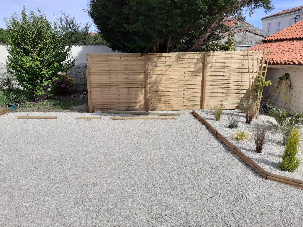 parking privé Le clos des Passiflores à Pons